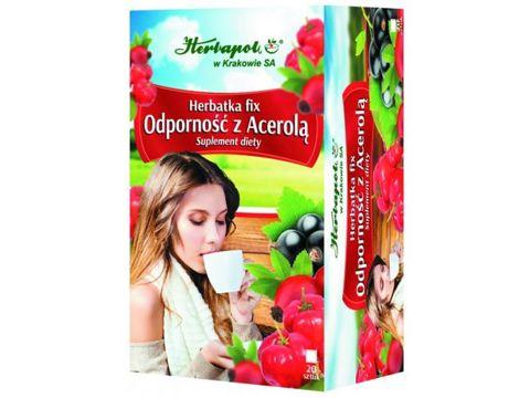 Herbatka fix Odporność z acerolą x 20 saszetek