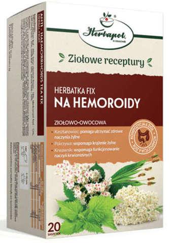 Herbatka fix na hemoroidy x 20 saszetek