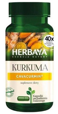 Herbaya Kurkuma Cavacurmin x 60 kapsułek