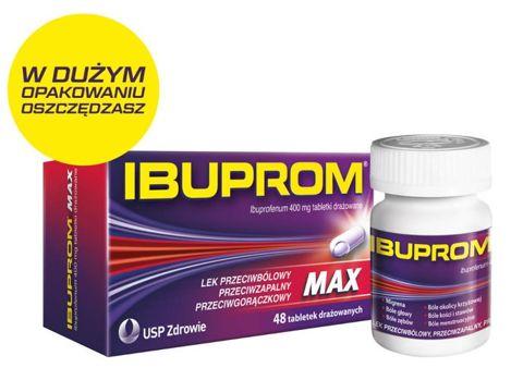 IBUPROM Max x 48 tabletki