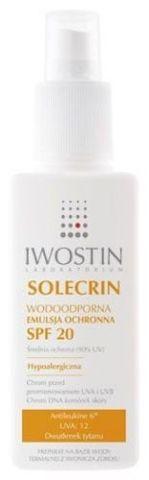 IWOSTIN Solecrin SPF20 emulsja ochronna 125ml
