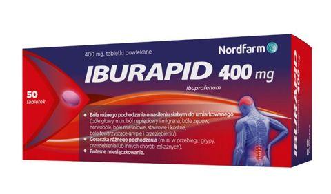 Iburapid 0,4g x 50 tabletek