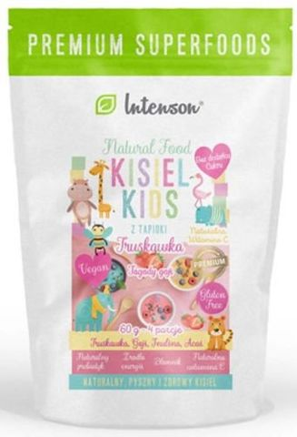 Kisiel Kids truskawka 60g