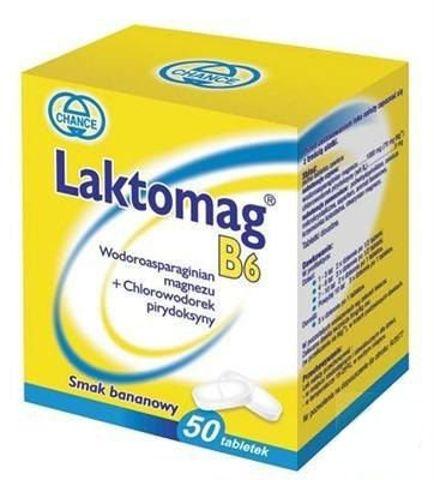 LAKTOMAG B6 x 50 tabletek