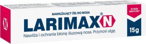 LARIMAX N żel nawilżający do nosa 15g