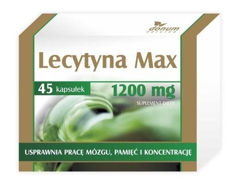 LECYTYNA MAX x 45 kapsułek