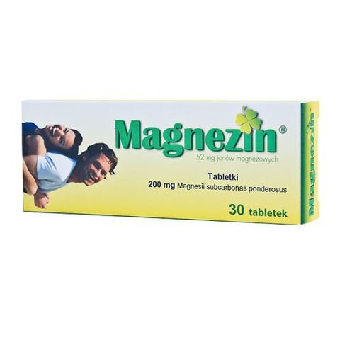MAGNEZIN 200mg x 30 tabletek