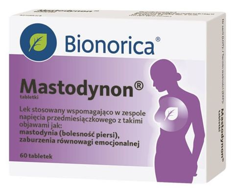 MASTODYNON x 60 tabletek