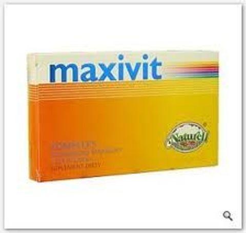 MAXIVIT z żeń-szeniem x 50 tabletek