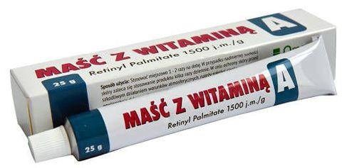 Maść z witaminą A 25g