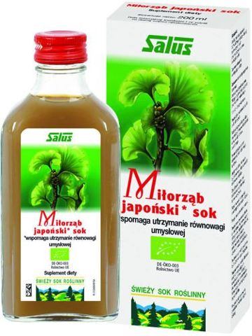 Miłorząb japoński sok 200ml