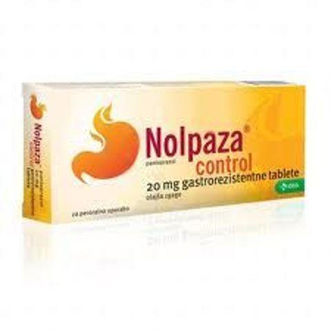 NOLPAZA CONTROL 20mg x 14 tabletek