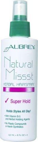Natural Missst Ziołowy spray do włosów - mocne utrwalenie 237ml