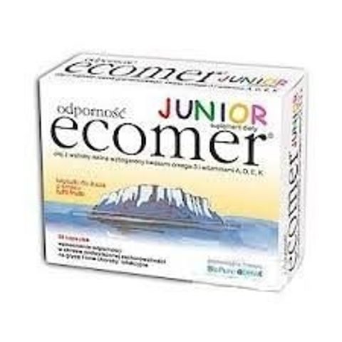 ODPORNOŚĆ ECOMER Junior x 30 kapsułek do żucia