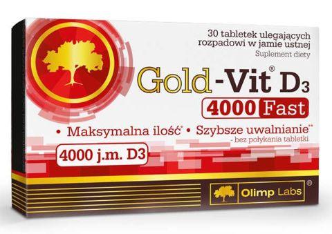 OLIMP Gold-Vit D3 4000 Fast x 30 tabletek