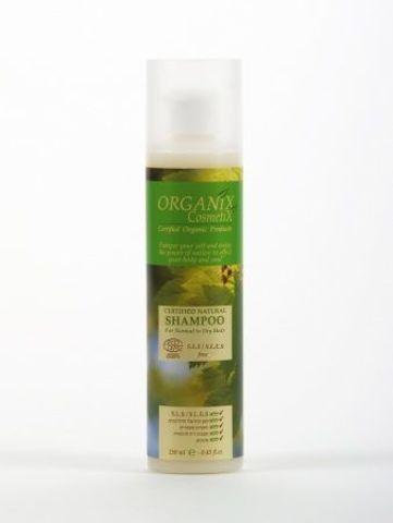 ORGANICZNY szampon do włosów suchych i zniszczonych  250ml