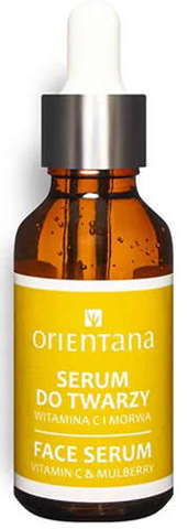 ORIENTANA Bio Serum do twarzy Witamina C i Morwa 30ml