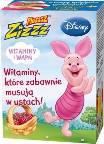 PLUSSSZ Zizzz Disney malinowe x 50 tabletek