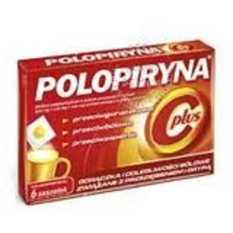 POLOPIRYNA C PLUS x 6 saszetek
