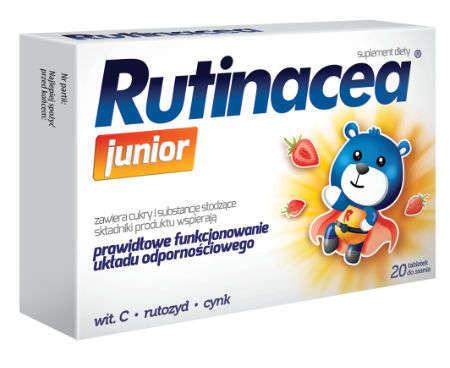 RUTINACEA Junior x 20 tabl. do ssania