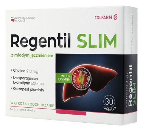 Regentil Slim x 30 tabletek