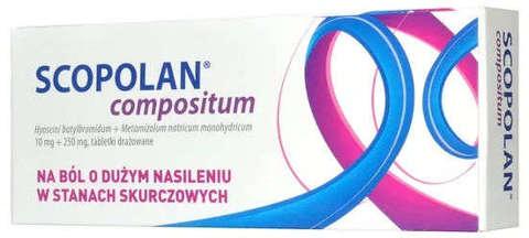 SCOPOLAN COMPOSITUM x 10 tabletek