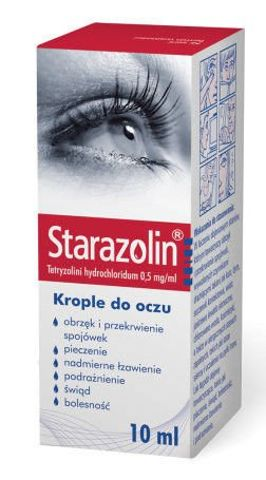 STARAZOLIN krople 10ml