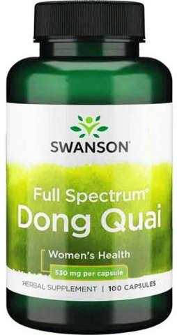 SWANSON DONG QUAI 530mg x 100 kapsułek