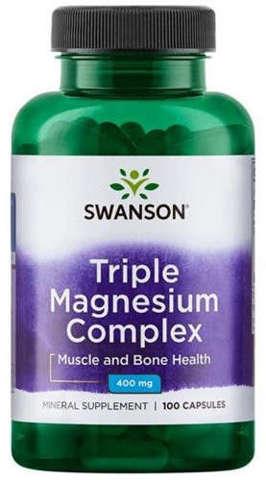 SWANSON Triple Magnesium Complex x 100 kapsułek