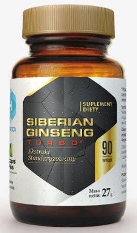 Siberian Ginseng Turbo x 90 kapsułek