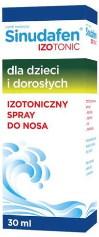 Sinudafen Izotonic aerozol do nosa 30ml