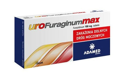 UROFURAGINUM Max 0,1g x 30 tabletek