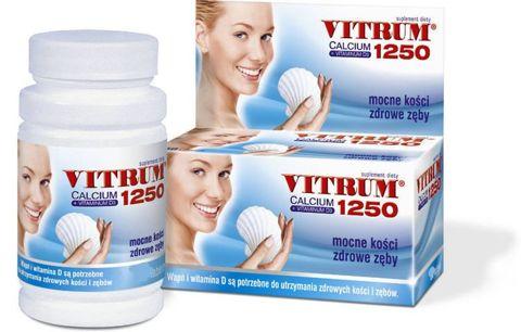VITRUM Calcium 1250 + Vit. D3 x 30 tabletek