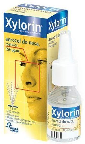 XYLORIN aerozol 18ml